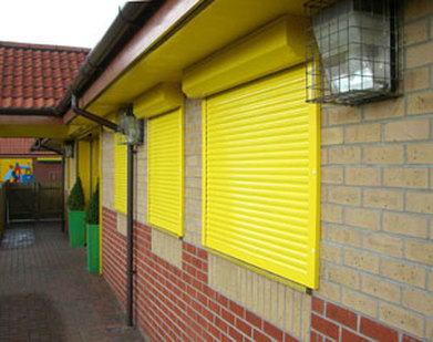 home security shutters manchester